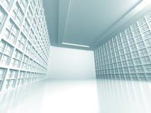 Abstrakter modernes Design-Architektur-Hintergrund Lizenzfreie Stockfotos