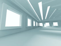 Abstrakter modernes Design-Innenarchitektur-Hintergrund Stockfotos