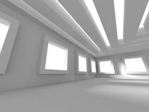 Abstrakter modernes Design-Innenarchitektur-Hintergrund Stockbilder