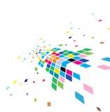 Abstrakter Mosaikaufbau Lizenzfreie Stockbilder