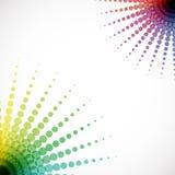 Abstrakter Mosaikhalbtonhintergrund Lizenzfreie Stockbilder