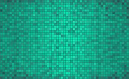 Abstrakter Mosaikhintergrund des Türkises Lizenzfreie Stockbilder