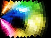 Abstrakter Mosaikhintergrund, eps10 Stockbild