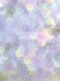 Abstrakter Mosaikhintergrund im Regenzeitkonzept Stockfoto