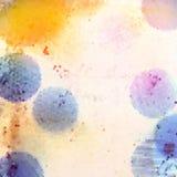 Abstrakter multi Farbehintergrund Lizenzfreies Stockfoto