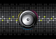 Abstrakter Musik-Hintergrund stock abbildung