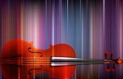 Abstrakter musikalischer Hintergrund Stockfotos
