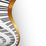 Abstrakter musikalischer Hintergrund Lizenzfreie Stockbilder