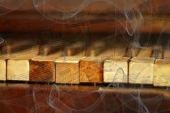 Abstrakter musikalischer Hintergrund Lizenzfreie Stockfotos