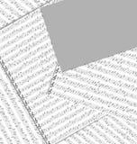 Abstrakter musikalischer Hintergrund, Fahne, Flugblatt, Abdeckung Stockfotos