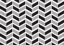Abstrakter Mustereckhintergrund des modernen Designs im schwarzen weißen Farbthema Stockfotografie