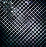 Abstrakter Musterhintergrund des schwarzen Quadrats Stockfotos