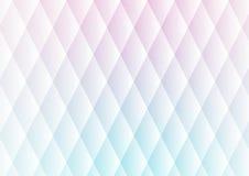 Abstrakter Musterhintergrund des weichen Lichtes der Dreiecke Stockbild