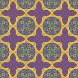 Abstrakter Mustertapetenillustrations-Blumenvektor Lizenzfreie Stockfotos