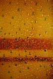 Abstrakter muticolor Blasenhintergrund Plastik lizenzfreies stockbild