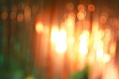 Abstrakter Nacht-bokeh Hintergrund Stockbild