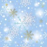 Abstrakter nahtloser blauer Hintergrund lizenzfreie abbildung