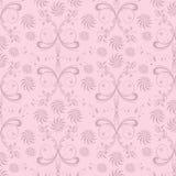 Abstrakter nahtloser Blumenhintergrund lizenzfreie abbildung