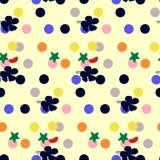 Abstrakter nahtloser Blumenhintergrund Lizenzfreie Stockfotografie