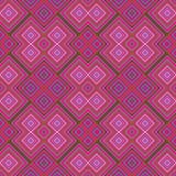 Abstrakter nahtloser geometrischer kubistischer Hintergrund stock abbildung