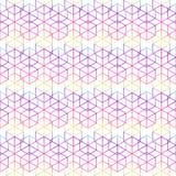 Abstrakter nahtloser geometrischer Musterhintergrund Stockfoto