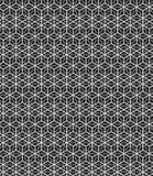 Abstrakter nahtloser geometrischer Musterhintergrund Stockbild