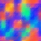 Abstrakter nahtloser Hintergrund stock abbildung