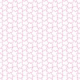 Abstrakter nahtloser Hintergrund mit gelegentlichem Gitter des Fleckens Vektor Lizenzfreie Stockfotografie