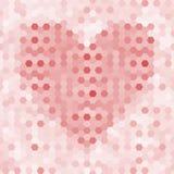Abstrakter nahtloser Hintergrund von Hexagonen Lizenzfreie Stockfotos