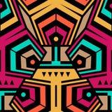 Abstrakter nahtloser moderner Art Pattern für Textildesign Lizenzfreie Stockfotos