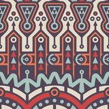 Abstrakter nahtloser moderner Art Pattern für Textildesign Lizenzfreie Stockfotografie