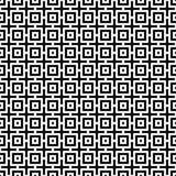 Abstrakter nahtloser moderner Hintergrund in der Schwarzweiss-Art Stockfotos