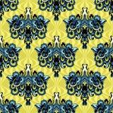 Abstrakter nahtloser Muster-Vektor Stockbild