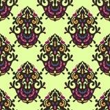 Abstrakter nahtloser Muster-Vektor Lizenzfreie Stockbilder