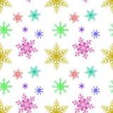Abstrakter nahtloser Musterhintergrund des neuen Jahres 2015 Stockbild