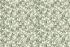 Abstrakter nahtloser Musterhintergrund Hintergrund des Dollars Lizenzfreies Stockfoto