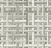 Abstrakter nahtloser Musterhintergrund Wiederholen der geometrischen Beschaffenheit stockbild