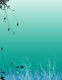 Abstrakter nasser Hintergrund Stockfoto
