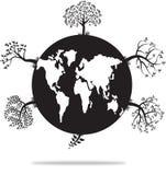 Abstrakter Natur-Hintergrund Lizenzfreies Stockbild