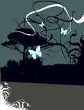 Abstrakter Natur-Hintergrund lizenzfreie abbildung