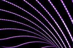 Abstrakter Neonhintergrund Lizenzfreies Stockbild