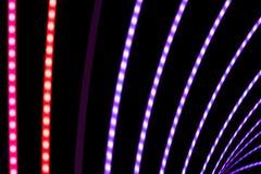 Abstrakter Neonhintergrund Lizenzfreies Stockfoto