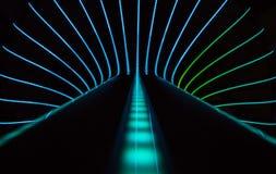Abstrakter Neonhintergrund Stockfotos