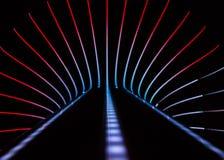 Abstrakter Neonhintergrund Stockbild