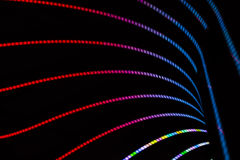 Abstrakter Neonhintergrund Stockfoto