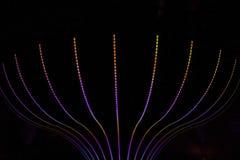 Abstrakter Neonhintergrund Lizenzfreie Stockfotos