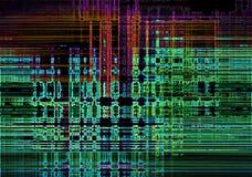Abstrakter Neonlichthintergrund Stockfotografie
