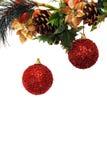 Abstrakter neues Jahr- und Weihnachtshintergrund Stockbilder
