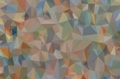 Abstrakter niedriger Polyhintergrund Stockfotografie