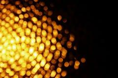 Abstrakter orange bokeh Hintergrund Lizenzfreies Stockfoto